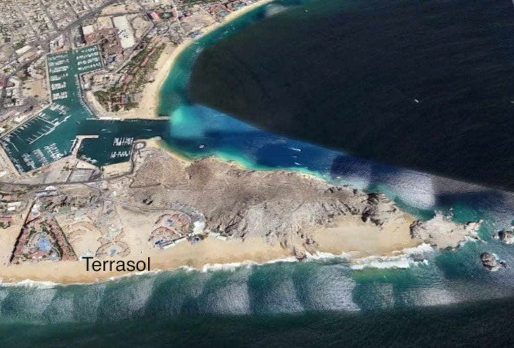 Location of Terrasol in cabo san lucas