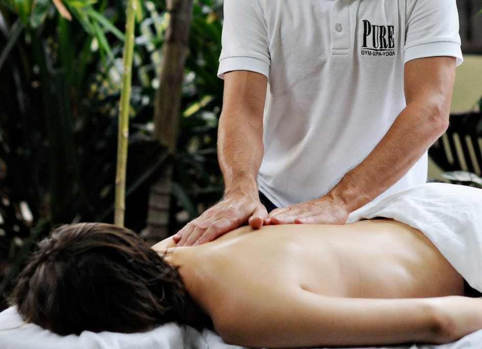 You get a discount on massages (which are already very inexpensive) when you stay at PURE.