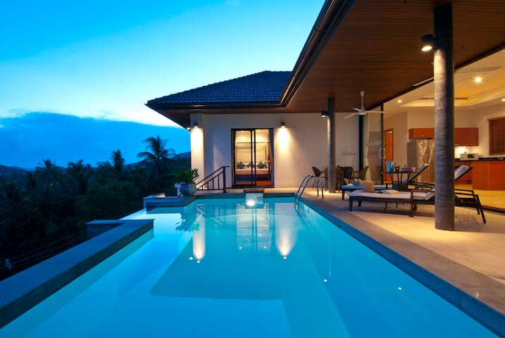 Villa Baan Saitara-Private pool villa with seaview