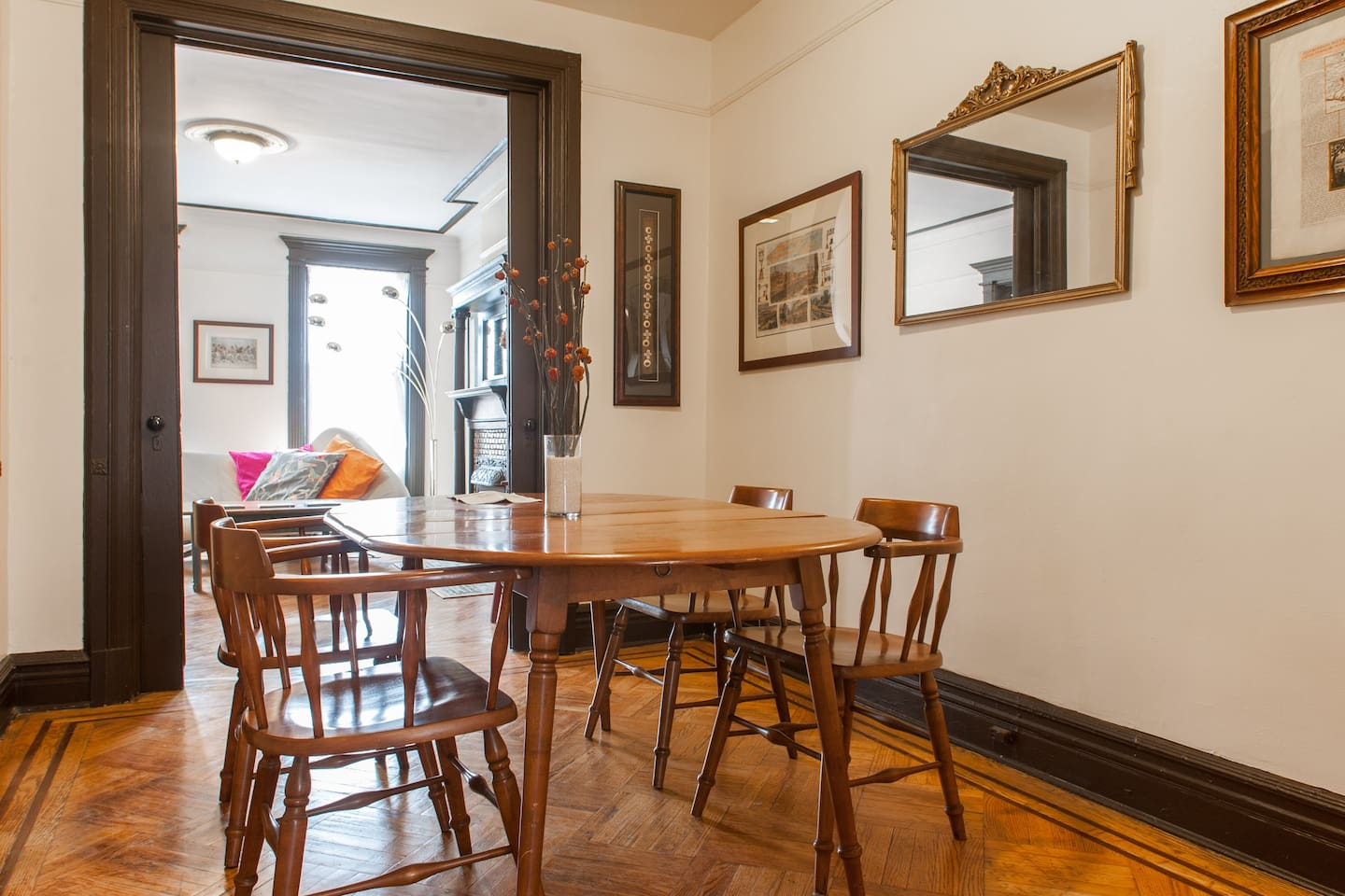 Brooklyn Entire Home Apt 2 Beds 7 GuestsElegant Quiet Spacious 2BD Brownstone NYC