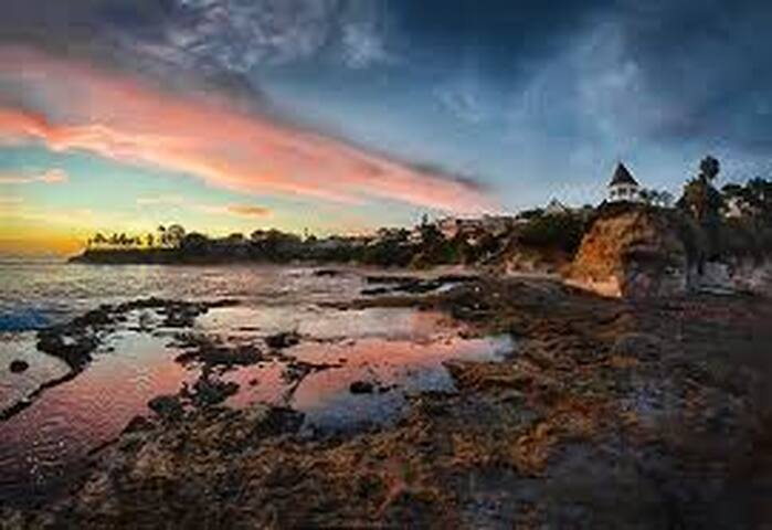Modern - Coves and Panaramic View  - Laguna Beach - Hus