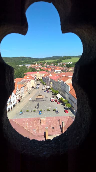 Slavonice view from tower