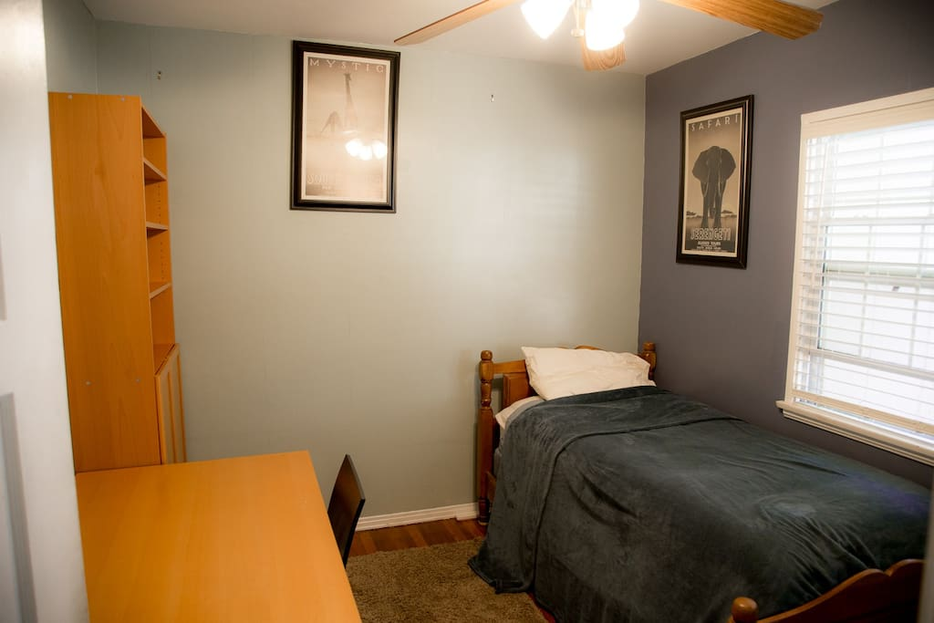 Welcome!  This is your cozy guest room.