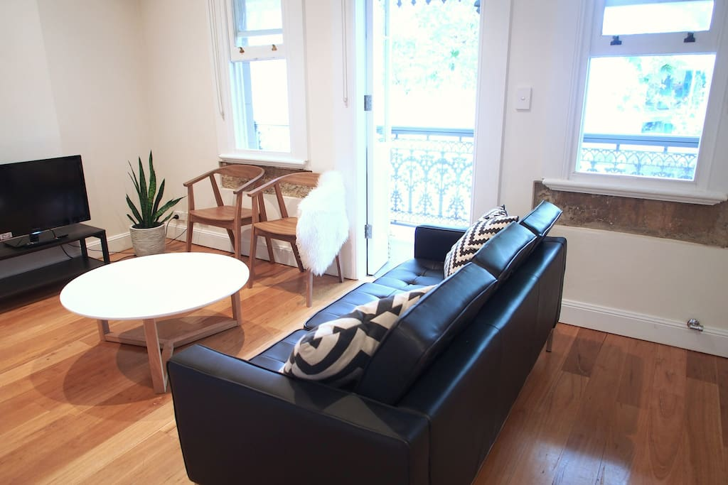 Enjoy the sights and sounds of Surry Hills from the comfort of your living room