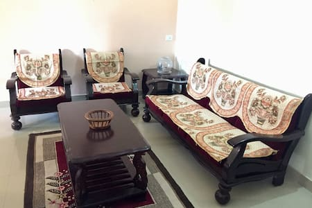 Sweethome- 2BHK fully furnished flat -Upscale area