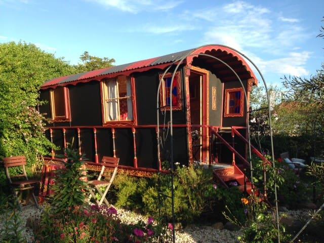 Rustic Gypsy Wagon