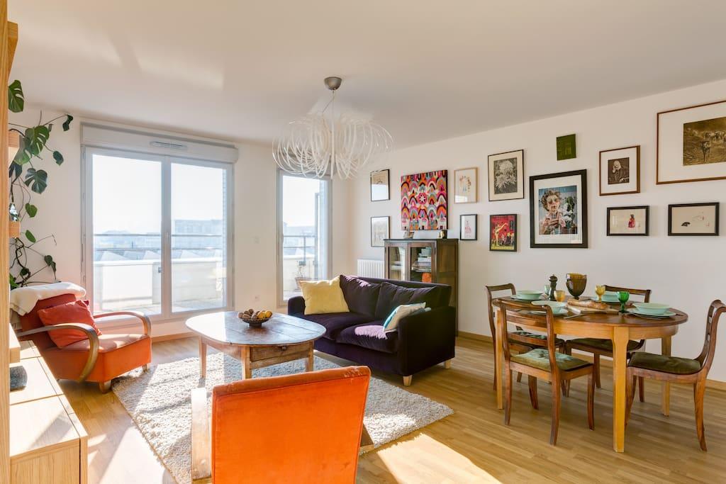 Suite parentale calme proche paris apartments for rent in pantin le de france france for Suite parentale m paris