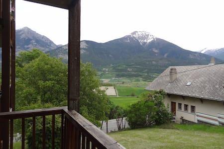 Joli T2 aux portes des Ecrins - Châteauroux-les-Alpes - Apartamento