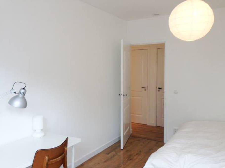 Biggest room of your floor, around 20m2