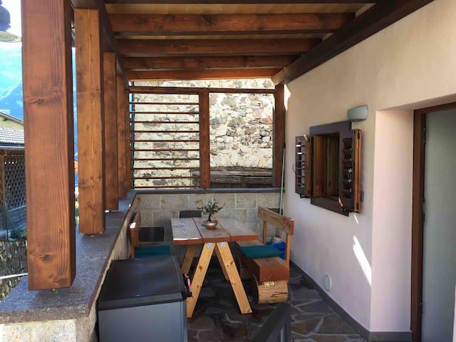 Casa di Micky, centro storico di Canal San Bovo!