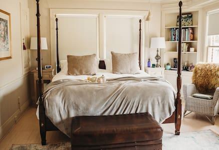 The Mabelle Bluestem King room