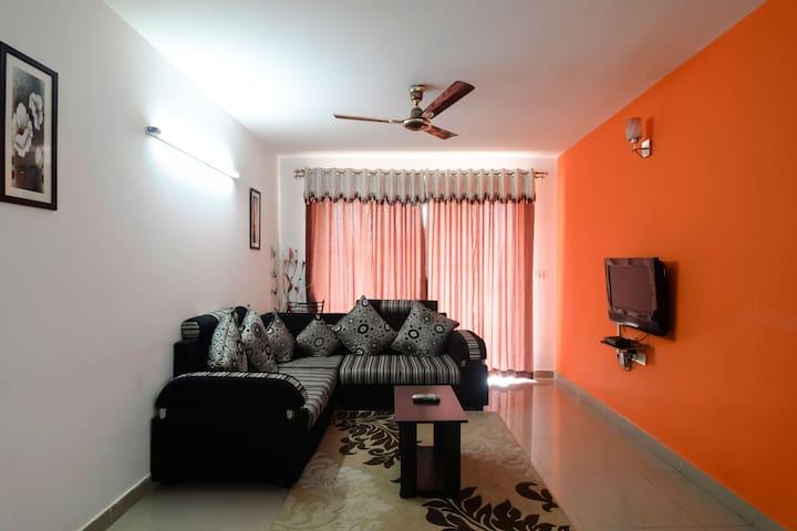 3 Bedroom Service Apartment near Manyata Tech Park