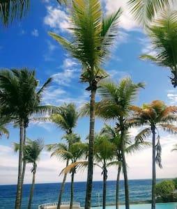Apartamento con vista al  mar Caribe