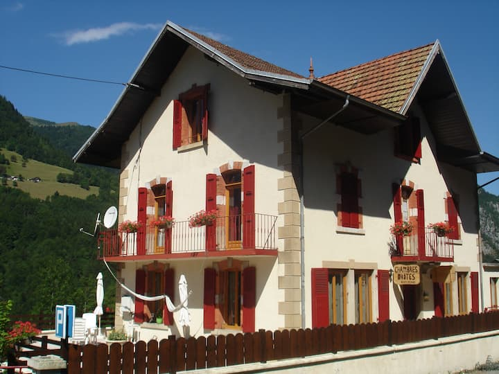 Bed+Breakfast L'Horizon des Alpes