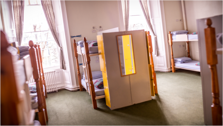 16 Bed Mixed Dorm Edinburgh Centre