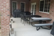Downstairs Entrance Patio