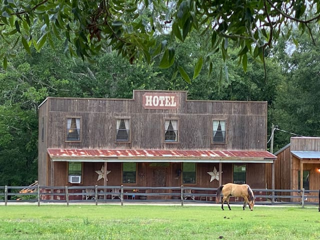 Tango Tavern Hotel Room on Elegant Horse Estate