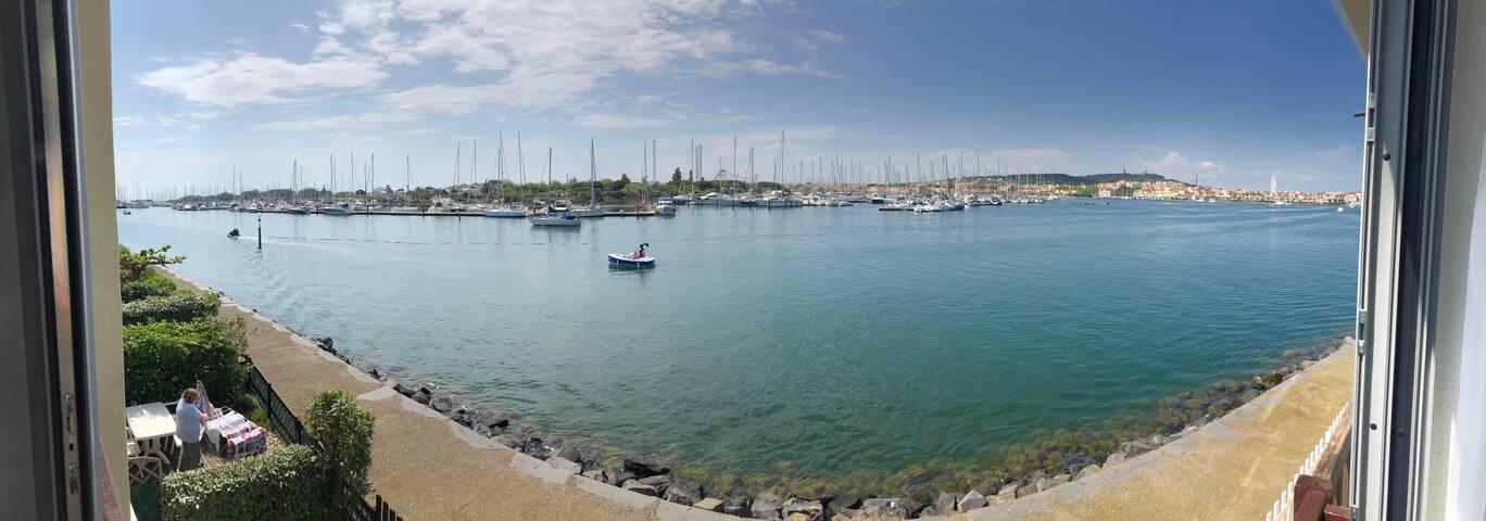 appartement île des pêcheurs, vue imprenable.