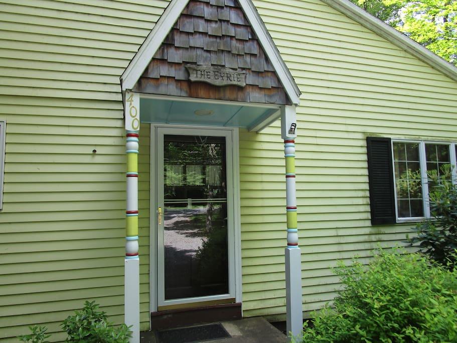 Eyrie Front Door