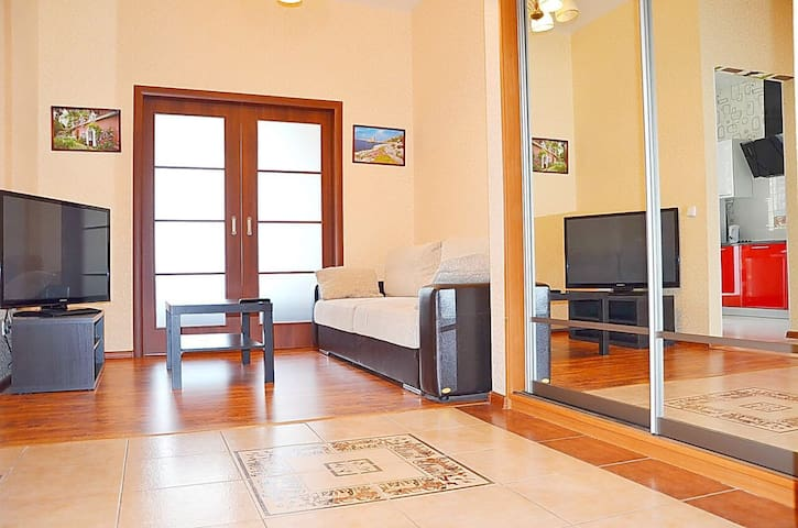 Стильная 1.5 комнатная квартира