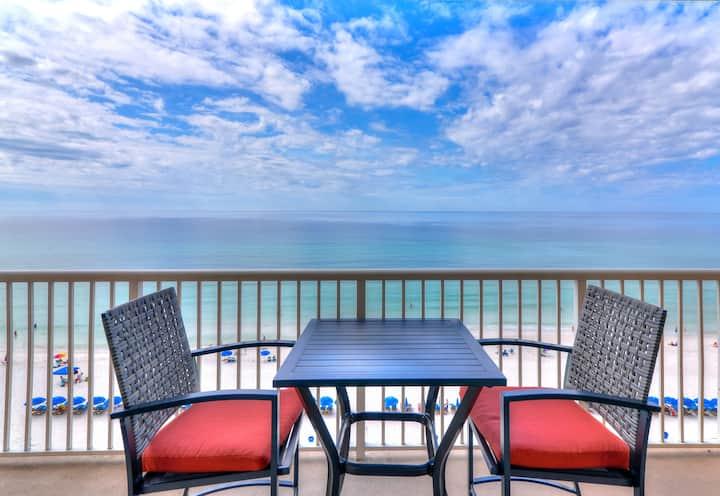 Updated MAJESTIC 8th floor, inc beach service*
