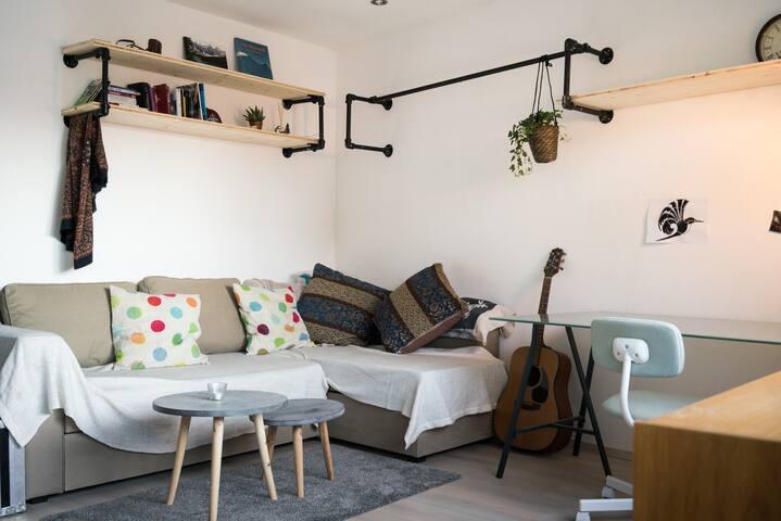 Schöne Wohnung in Zentrumsnähe mit Loggia & Balkon