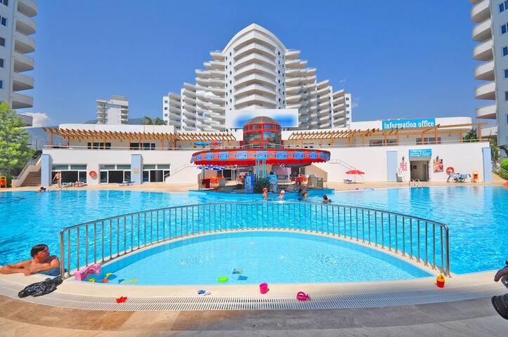 Люксовые апартаменты в Турции