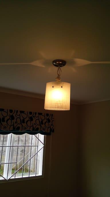 Lámpara pieza matrimonial