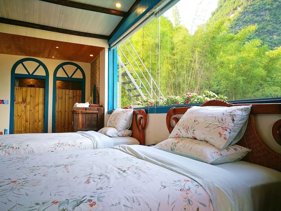 观景双床房