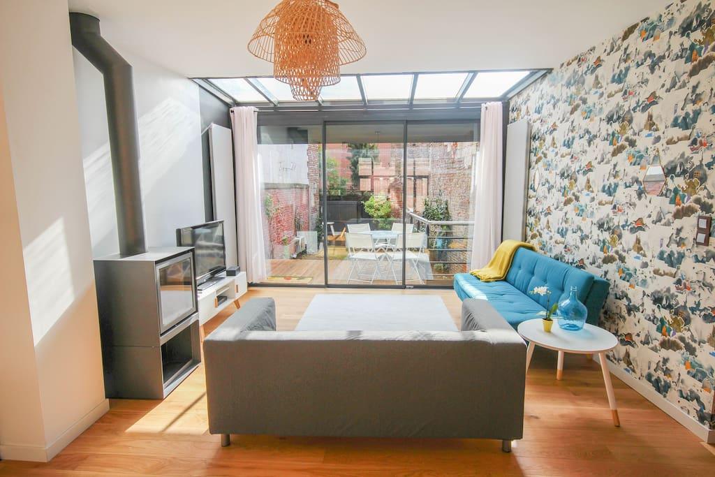 maison vieux lille 10mn gares 8p parking priv maisons louer lille hauts de france france. Black Bedroom Furniture Sets. Home Design Ideas