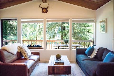 Three Peak Cabin - Riverside, Mtn Views, Pets