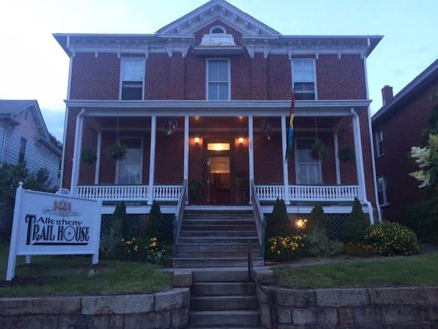 Allegheny Trail House B&B - Frostburg - Wikt i opierunek
