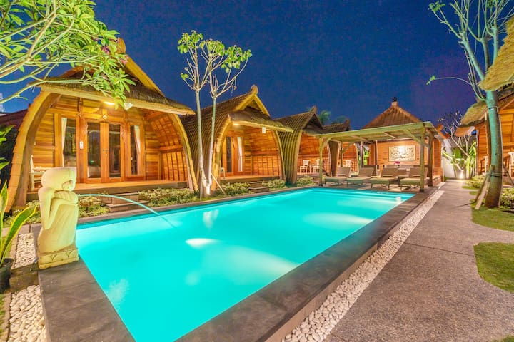 Peaceful  Balinese Wood Cabin by Bukit Vista #1