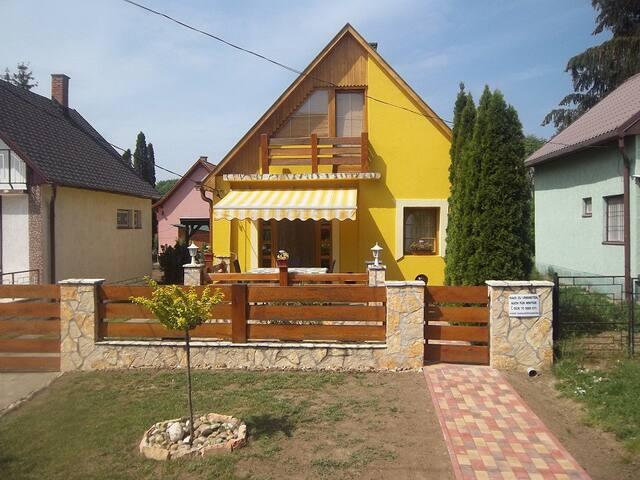 House near spa in Dombovar/Gunaras