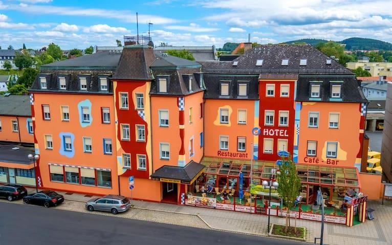 Meister Bär Hotel (Marktredwitz), Einzelzimmer Economy