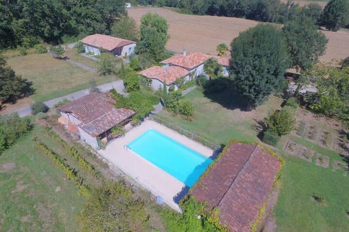 Grande maison au cœur du Lot et Garonne - Allez-et-Cazeneuve
