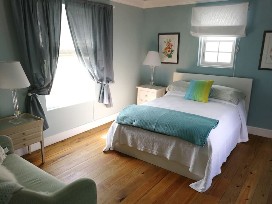 large spacious air conditioned master bedroom