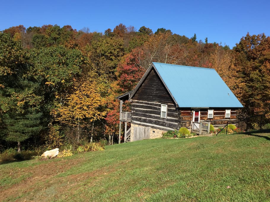 Welcome to A Blue Ridge Haven! Located just off the Blue Ridge Parkway at MP 177.