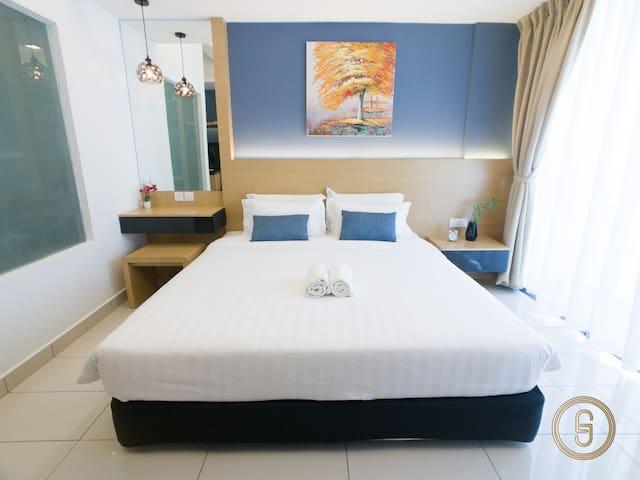 沙巴亚庇舒适独立套房-近机场&市区 Kota Kinabalu Aeropod 1.0  2pax