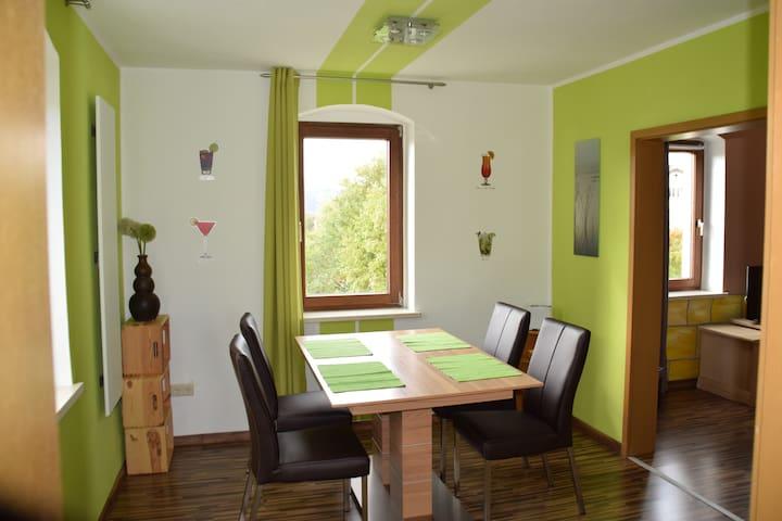 Ferienwohnung für 4 Personen - Dürrröhrsdorf-Dittersbach - อพาร์ทเมนท์