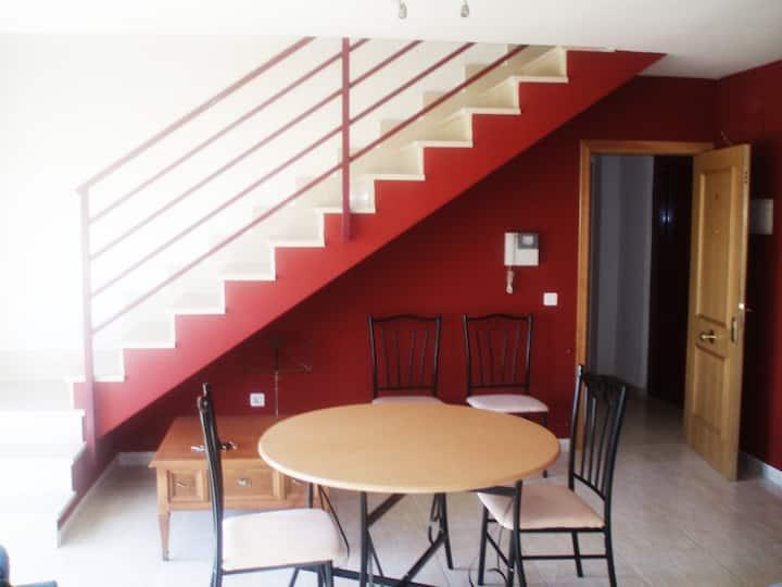 vivienda duplex en Benicassim,  luz y relax.