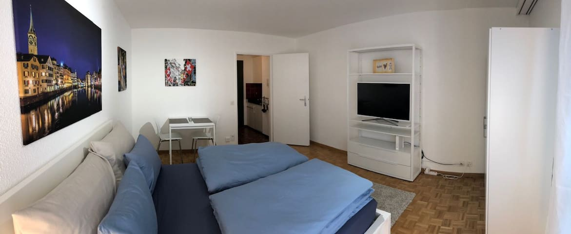 Great 1 room #303, 1 bed Studio in Zurich center
