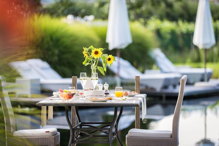 Weingarten Alpin Apartment Two with Wi-Fi, Wellness Area & Pool