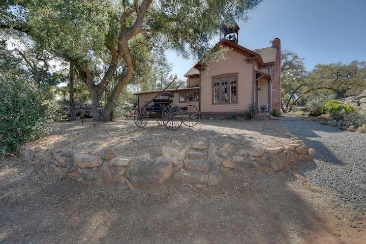 Original Wine Country Schoolhouse