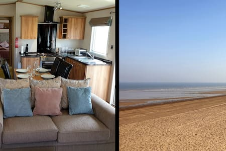 Luxury Caravan 2 Minutes from Sandy Beach