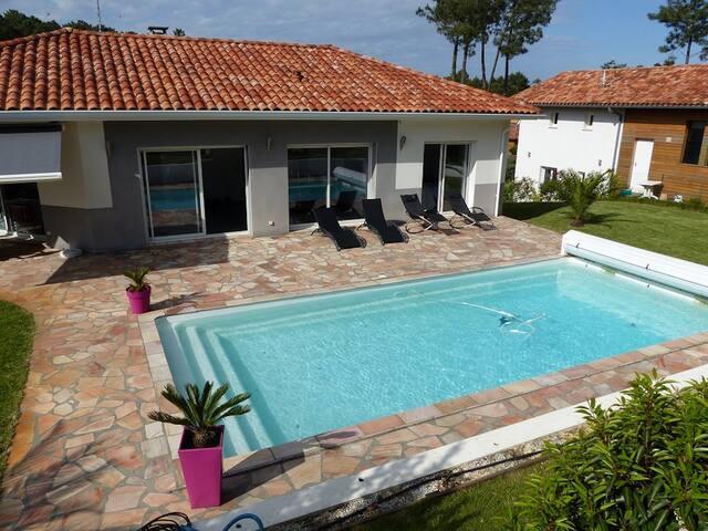 Grande villa près des plages des Landes à Labenne