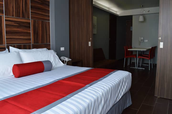 NewSuite with King Size Bed&Sofa, the Perfect Rest
