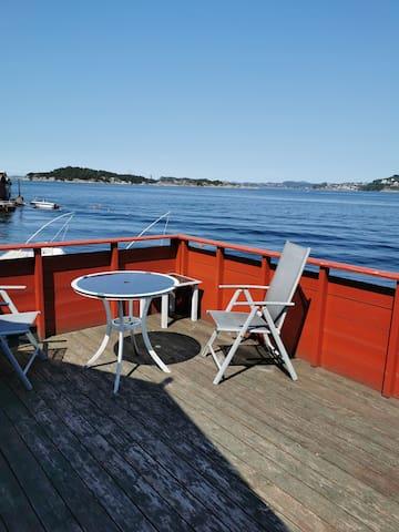 Idyllic cabin / fisherman's cabin inkl. boat