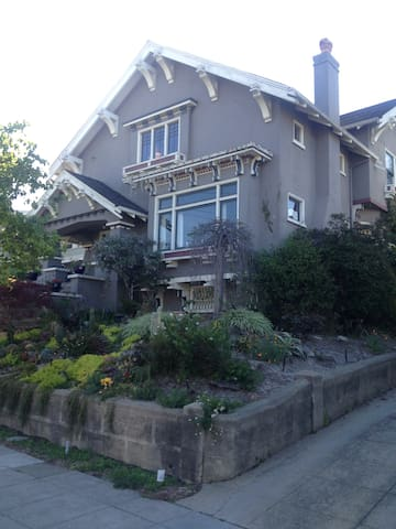 Our craftsman home in Rockridge, built in 1912