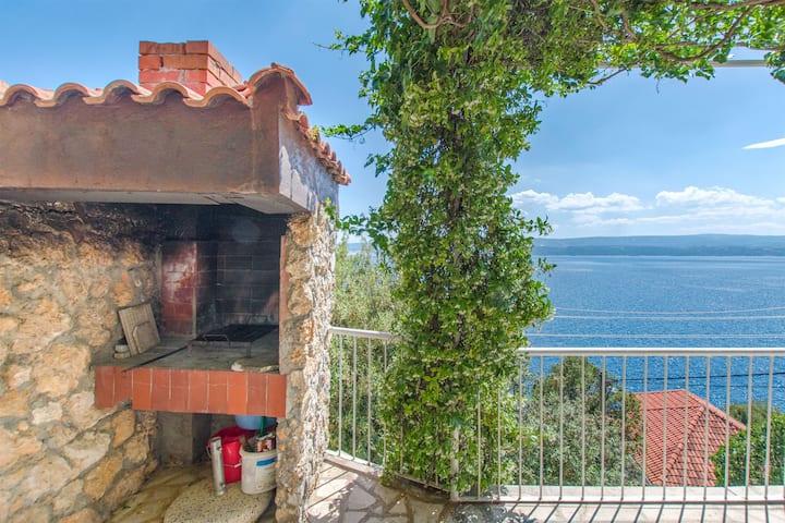 Dwuosobowy Apartament, przy plaży, 120m do centrum miasta, Stanici, Taras